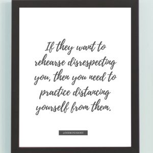 Inspirational Wall Art Printed Quote 4 (Unframed 8×10)